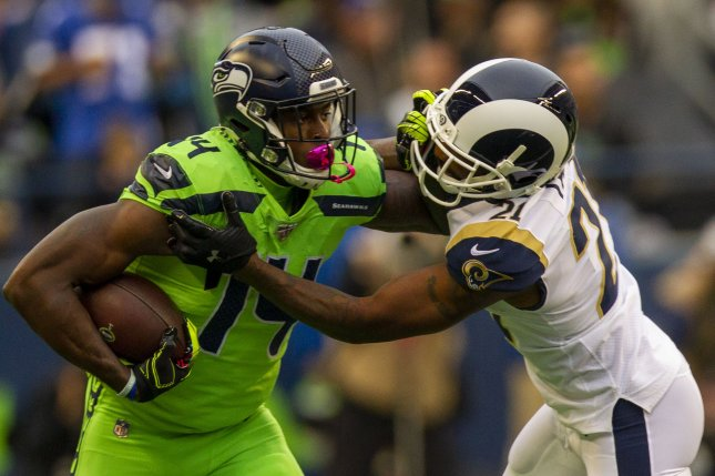Los Angeles Rams cornerback Aqib Talib (21) will be sidelined for at least eight weeks before he is eligible to return to the team. File Photo by Jim Bryant/UPI