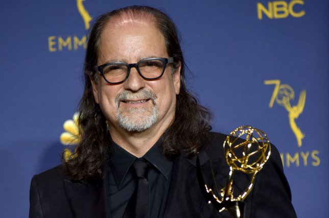 Glenn Weiss, winner of the award for Outstanding Directing for a Variety Special for the Oscars, appears backstage during the 70th annual Primetime Emmy Awards in Los Angeles in 2018. Weiss is directing the ceremony for ABC again this year. File Photo by Christine Chew/UPI