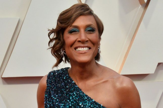 Robin Roberts will speak with Jamie Lee Curtis, Jenna Dewan and other female celebrities on the new series Turning the Tables. File Photo by Jim Ruymen/UPI