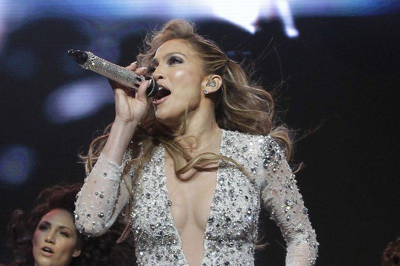 Jennifer Lopez. UPI/John Angelill0