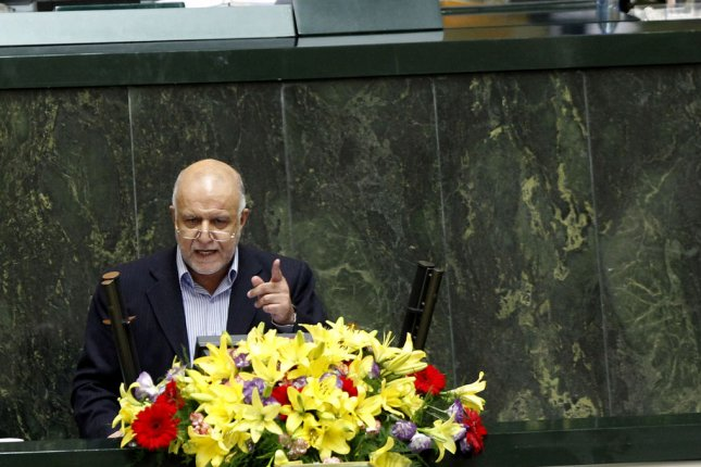 Iranian Oil Minister Bijan Zanganeh on hand for the signing of the latest in a string of agreements related to domestic oil projects. File photo by Maryam Rahmanian/UPI