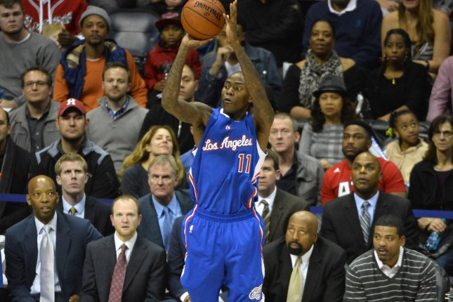 Los Angeles Clippers guard Jamal Crawford (11). UPI/David Tulis