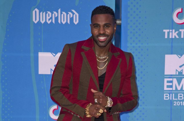 Jason Derulo is set to star in the upcoming film adaptation of Cats. File Photo by Sven Hoogerhuis/UPI