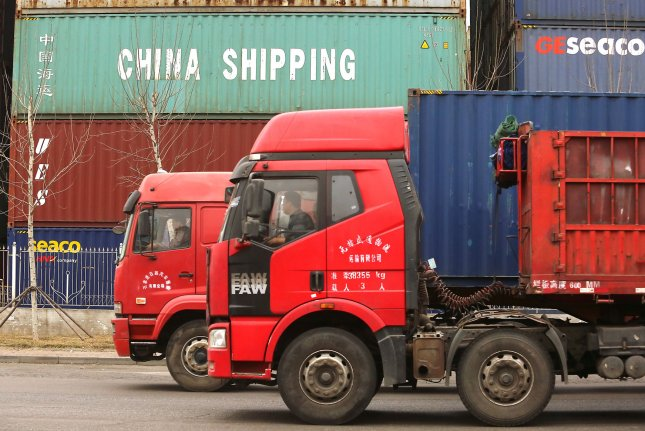 U.S. importers paid nearly $3.5 billion in tariffs for Chinese products in June, an increase of $2.4 billion over the same month last year. File Photo by Stephen Shaver/UPI
