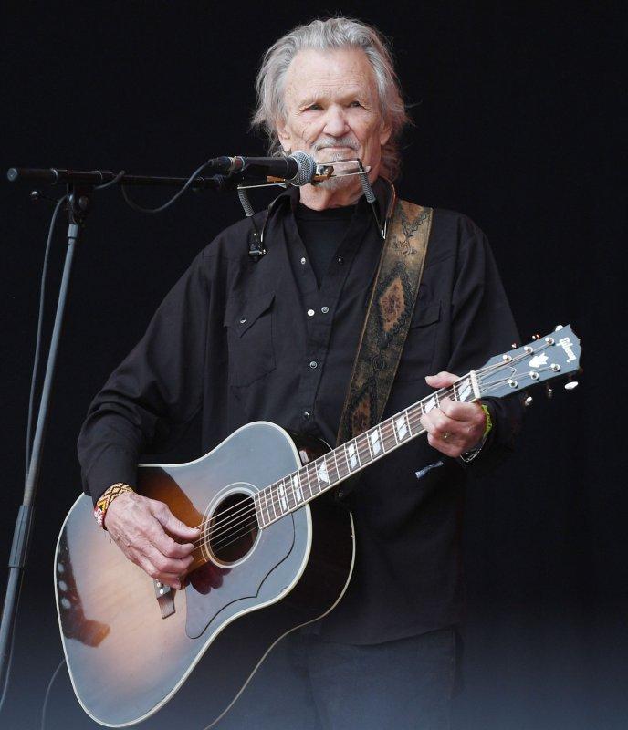 Kris Kristefferson performs at the Glastonbury Music Festival on June 23, 2017, in Somerset, England. The actor/singer turns 84 on June 22. File Photo by Rune Hellestad/UPI
