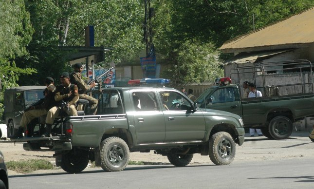 Pakistani Army and Police increased its presence on the streets of Abbottabad, Pakistan where the US Special Forces killed al -Qaida chief Osama bin Laden in a nearby compound on May 2, 2011. Osama bin Laden was killed by U.S. special forces in a firefight it was announced by U.S. President Barack Obama on May 1, 2011. UPI/Sajjad Ali Qureshi