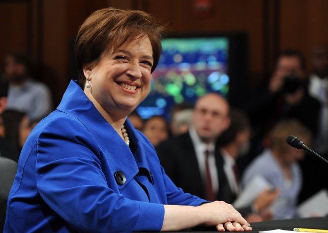 Supreme Court nominee Elena Kagan, President Obama's pick to replace retiring Justice John Paul Stevens, waits to testify on the first day of her confirmation hearing before the Senate Judiciary Committee on Capitol Hill in Washington on June 28, 2010. UPI/Roger L. Wollenberg