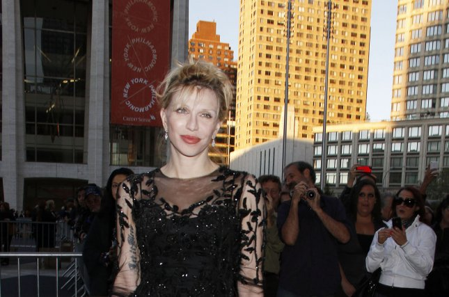 Courtney Love attends the Metropolitan Opera Season Opening with Donizetti's L'Elisir D'Amore at the Metropolitan Opera House at Lincoln Center in New York on September 24, 2012. UPI /Laura Cavanaugh