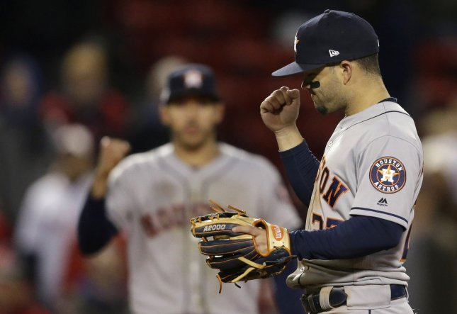 ALCS: Astros blast Red Sox in Game 1 - UPI com