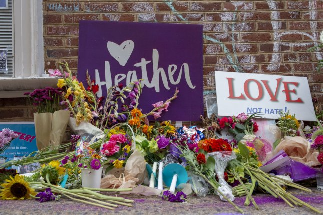 James Alex Fields faces life in prison for murdering Heather Heyer. File Photo by Alex Edelman/UPI