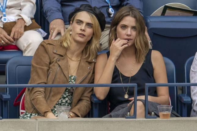 Cara Delevingne (L) and Ashley Benson reportedly broke up in April. File Photo by Corey Sipkin/UPI