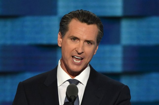 California Gov. Gavin Newsom called for an investigation as more than 3.3 million homes and businesses in California are expected to lose power in the third night of rolling blackouts amid record heat in Death Valley. Photo by Pat Benic/UPI