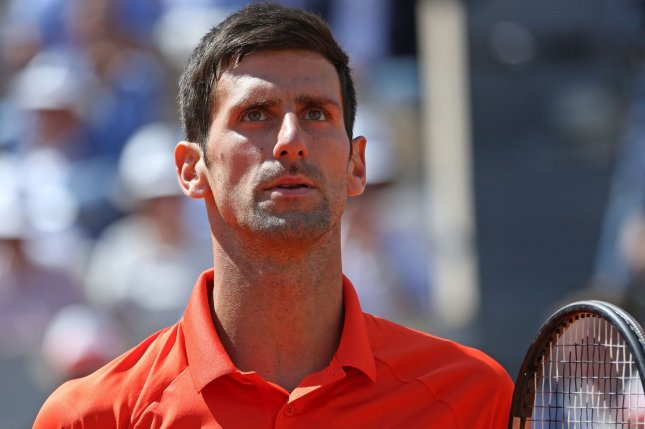 Djokovic In Pain After U S Open Tennis Disqualification Upi Com