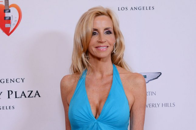 TV personality Camille Grammer attends the 20th annual Race To Erase MS gala, themed 'Love To Erase MS', at the Hyatt Regency Century Plaza in the Century City section of Los Angeles on April 3, 2013. (File/UPI/Jim Ruymen)