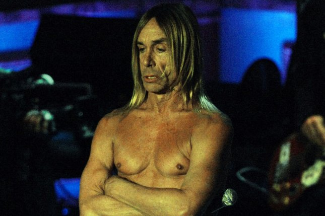Iggy Pop and musician Josh Homme appeard on U.S. television last night to announce their new collaborative album, 'Post Pop Depression.' File Photo by Ezio Petersen/UPI