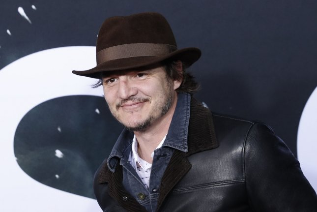 The first photos of Pedro Pascal and his co-stars in The Mandalorian were unveiled in Chicago on Sunday. File Photo by John Angelillo/UPI