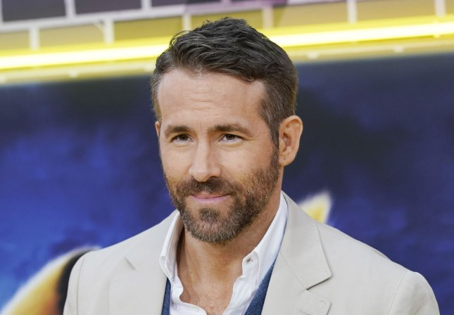 Ryan Reynolds' animated movie The Croods: A New Age is No. 1 for a third weekend. File Photo by John Angelillo/UPI