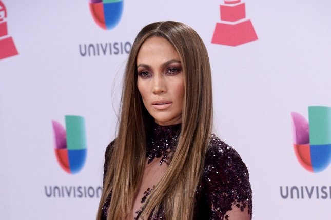 Actress/singer Jennifer Lopez arrives on the red carpet for the 17th annual Latin Grammy Awards at T-Mobile Arena in Las Vegas, Nevada onNovember 17, 2016. Photo by Jim Ruymen/UPI