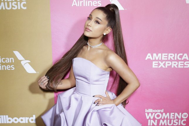 Ariana Grande will star in Givenchy's upcoming fall-winter 2019 campaign. File Photo by John Angelillo/UPI