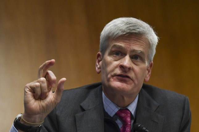 Republican Sen. Bill Cassidy of Louisiana tested positive for COVID-19 on Thursday and has entered quarantine after being exposed to an individual infected with the coronavirus. File Pool Photo by Toni L. Sandys/UPI