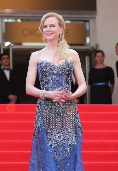 Nicole Kidman arrives on the red carpet before the screening of the film Grace of Monaco during the 67th annual Cannes International Film Festival in Cannes, France on May 14, 2014. UPI/David Silpa