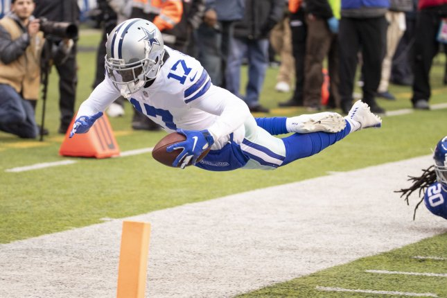 Dallas Cowboys wide receiver Allen Hurns appeared in all 16 games last season before sustaining a knee injury in the playoffs. File Photo by Chris Szagola/UPI