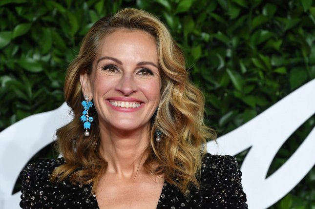 Julia Roberts will star in Leave the World Behind, a Sam Esmail-directed adaptation of Rumaan Alam's upcoming novel. File Photo by Rune Hellestad/UPI