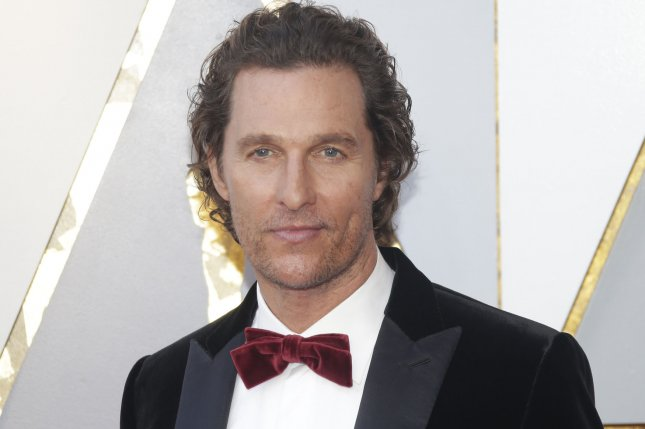 Matthew McConaughey is publishing a book called Greenlights this fall. File Photo by John Angelillo/UPI