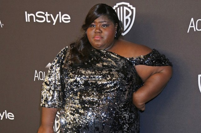 Gabourey Sidibe attends the 17th annual InStyle and Warner Bros. Golden Globe after-party in Beverly Hills on January 10, 2016. File Photo by David Silpa/UPI