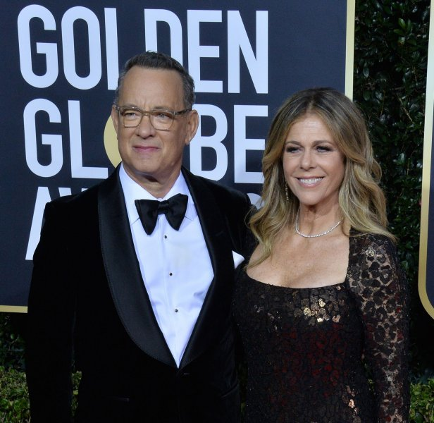 Tom Hanks and Rita Wilson have contracted the coronavirus that has infected more than 100,000 people across the globe. Photo by Jim Ruymen/UPI