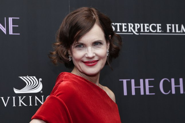 Elizabeth McGovern arrives on the red carpet for The Chaperone premiere at the Museum of Modern Art on March 25, 2019, in New York City. The actor turns 60 on July 18. File Photo by John Angelillo/UPI