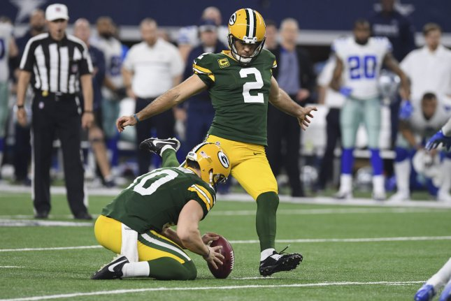 Mason Crosby has rough Saturday with new holder, snapper