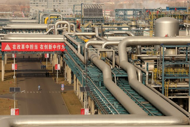 China is easing foreign investment restrictions in sectors that include the oil and gas industry. File Photo by Stephen Shaver/UPI