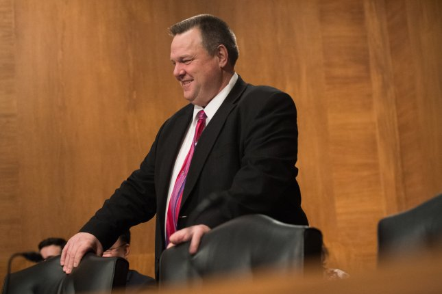 Sen. Jon Tester, D-Mont., shown here in 2018 in Washington, D.C., will serve as the chair of the Veterans Affairs Committee beginning Wednesday. File Photo by Kevin Dietsch/UPI