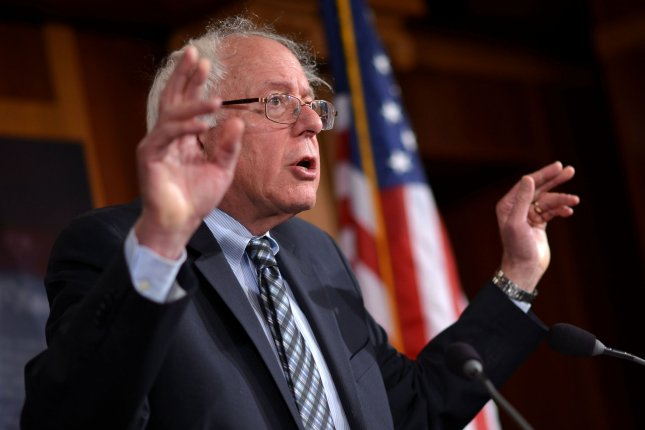 Sen. Bernie Sanders (I-VT) introduced legislation on Wednesday, May 6, 2015, intended to break up and reorganize any U.S. bank that is found to wield too much power and influence over the U.S. economy. The bill is aimed at preventing such banks from bringing down the economy in the future if they fail. Photo: UPI/Kevin Dietsch