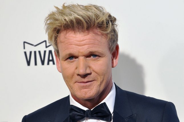 Gordon Ramsay stars in a Super Bowl LII commercial for Amazon. File Photo by Christine Chew/UPI