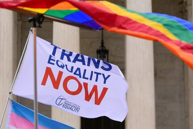 The study found that those who said they know a transgender person was higher among Americans under 30 and Democrats. The share was lower among Republicans.File Photo by Kevin Dietsch/UPI