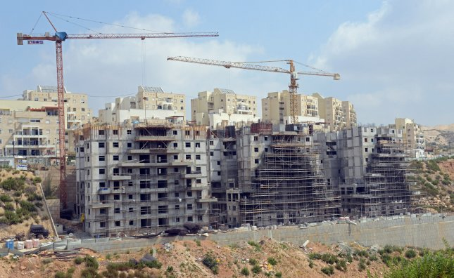 New Israeli housing units under construction in the Ultra-Orthodox Jewish settlement of Modi'in Ilit, West Bank, July 17, 2013. UPI/Debbie Hill