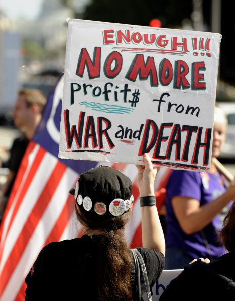 Occupy, anti-war activists band together