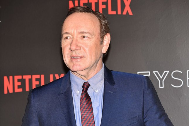 The Los Angeles County district attorney's office is reviewing a case of alleged sexual abuse by actor Kevin Spacey. Photo by Christine Chew/UPI