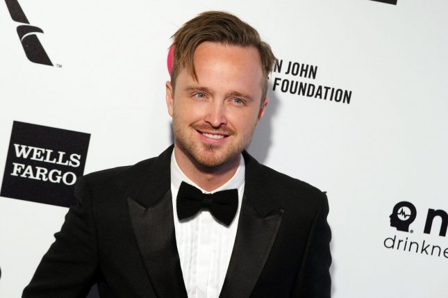Aaron Paul's movie El Camino will get its cable TV premiere on AMC on Feb. 16. File Photo by Jonathan Alcorn/UPI