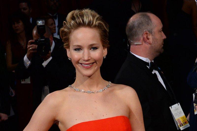 Jennifer Lawrence. UPI/Jim Ruymen