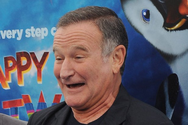 Robin Williams. UPI/Jim Ruymen