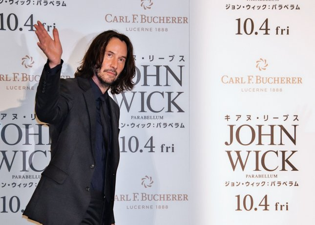 Actor Keanu Reeves is to serve as a presenter at next month's Oscars ceremony. File Photo by Keizo Mori/UPI