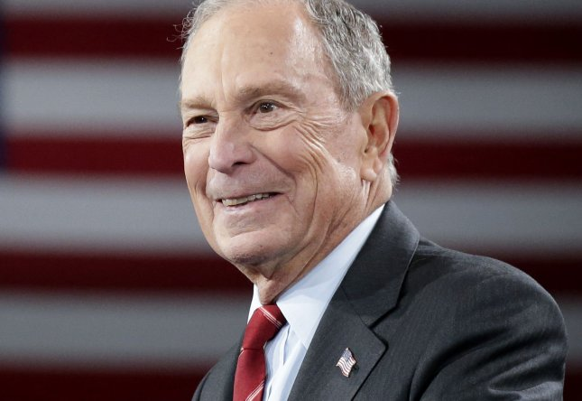 Twitter has suspended 70 accounts promoting Democratic presidential candidate Mike Bloomberg over alleged violation of platform rules. File Photo by John Angelillo/UPI