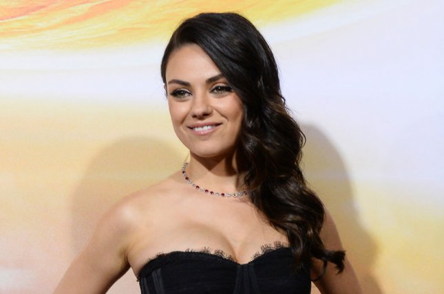 Mila Kunis at the Los Angeles premiere of 'Jupiter Ascending' on Feb. 2, 2015. The actress, Kristen Bell and Christina Applegate will star in a new comedy. File Photo by Jim Ruymen/UPI