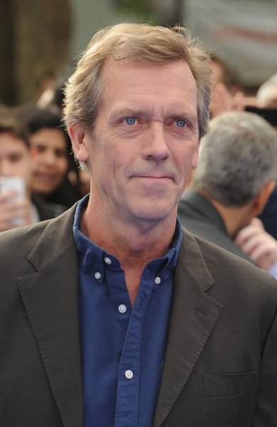 English actor Hugh Laurie attends the European premiere of Tomorrowland: A World Beyond in London on May 17, 2015. Photo by Paul Treadway/UPI
