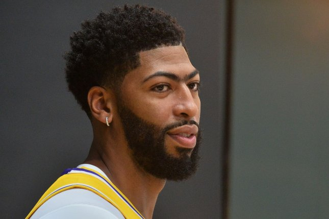 Los Angeles Lakers forward Anthony Davis scored a game-high 26 points during a loss to the Milwaukee Bucks on Thursday in Milwaukee. File Photo by Jim Ruymen/UPI