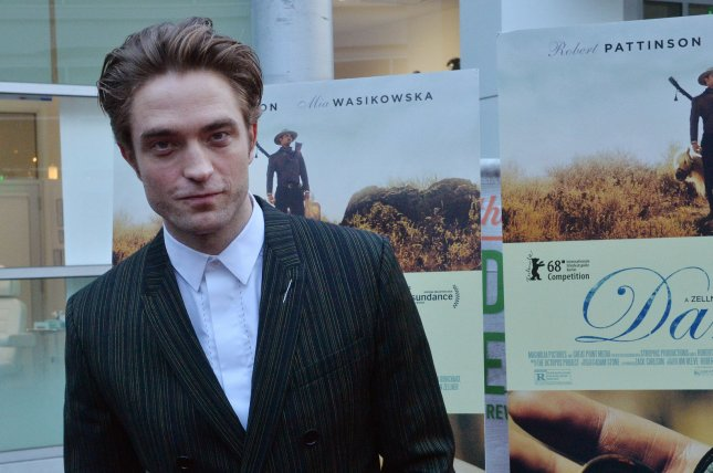 Robert Pattinson's Tenet is the No. 1 movie in North America for a fourth week. File Photo by Jim Ruymen/UPI