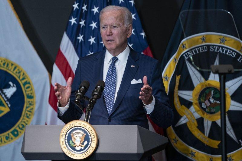U.S. President Joe Biden is urging Congress to extend a national moratorium on housing evictions. Photo by Alex Edelman/UPI